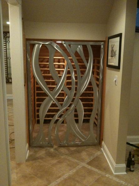 wine cellar gates custom gates high end gates